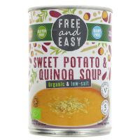 Free & Easy Organic Sweet Potato & Quinoa Soup 400g